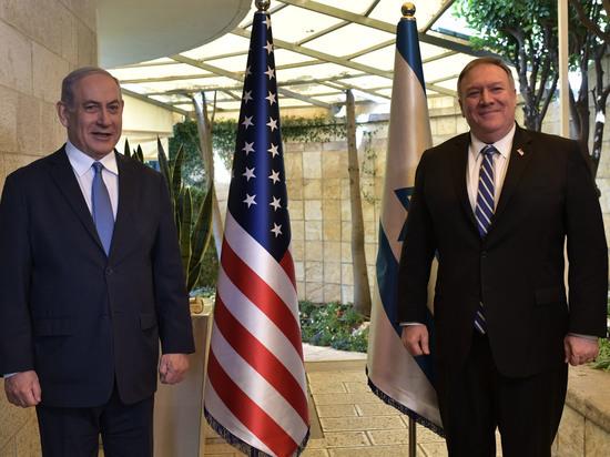 Состоялась встреча премьер-министра Нетаниягу с госсекретарем США Майком Помпео