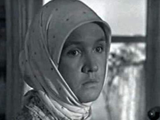 Умерла актриса фильма «А зори здесь тихие» Алла Мещерякова