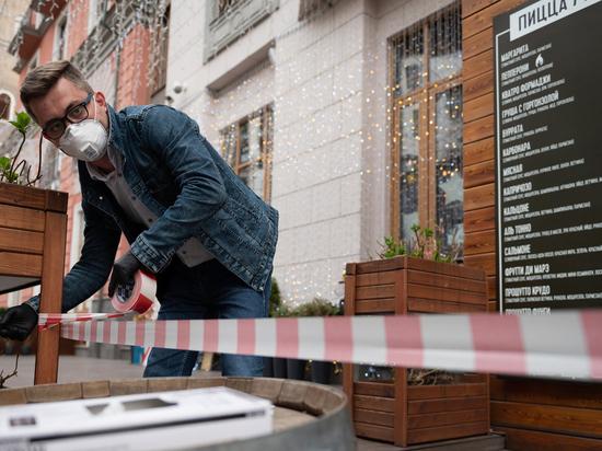 В Петербурге могут разрешить работу ресторанов с уличными столиками