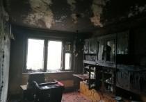 Отец и сын пострадали при квартирном пожаре в Марпосаде