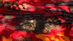 В гараже в Новороссийске силовики нашли склад оружия