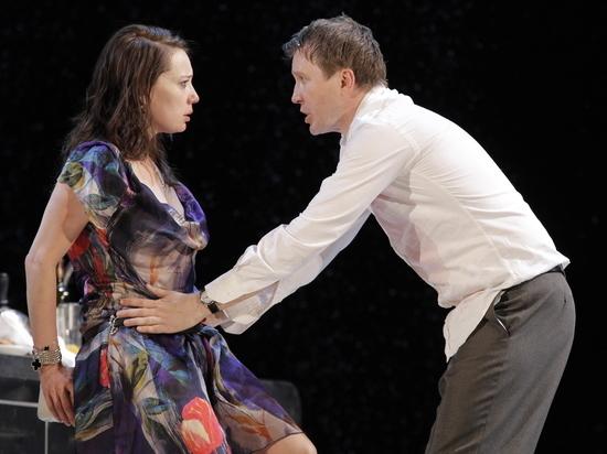 Германия: Чулпан Хаматова и Евгений Миронов в спектакле «Фрекен Жюли» на сайте берлинского театра «Шаубюне»