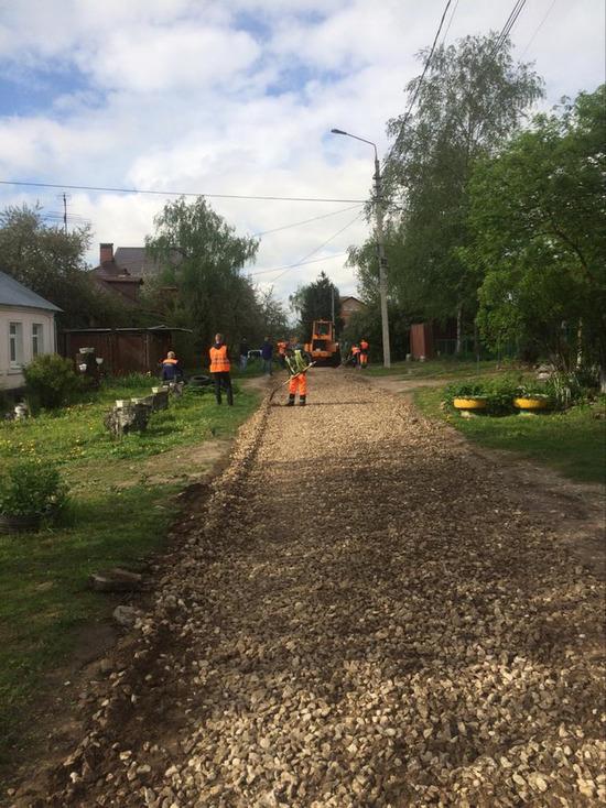 В Серпухове отремонтировали еще одну дорогу