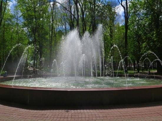 В Смоленске на Блонье заработал фонтан