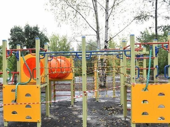 В 75 ярославских селах появятся современные детские площадки
