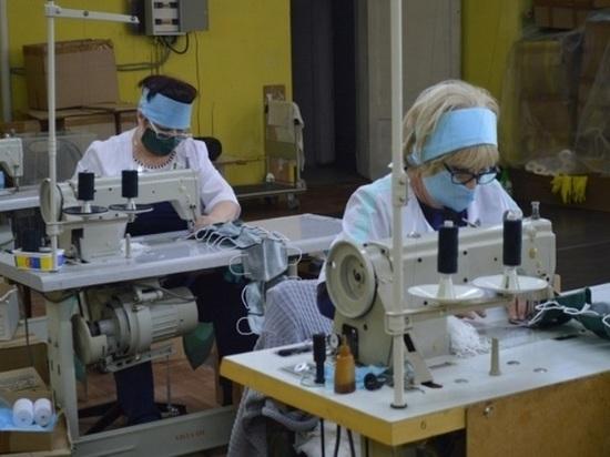 В Серпухове начали выпускать защитные маски
