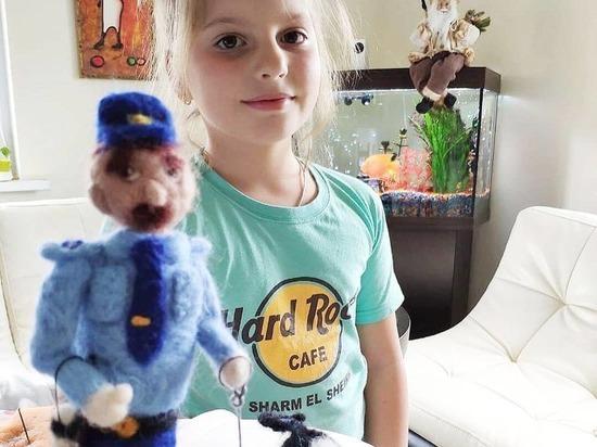 Юная жительница Чехова победила в конкурсе от МВД