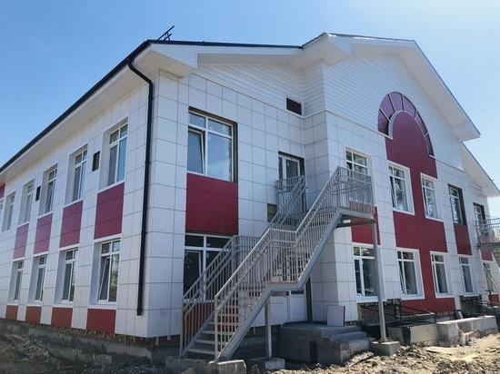 Детский сад в Железноводске строят с опережением сроков