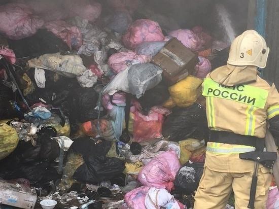Накануне в ГУ МЧС России по Владимирской области поступило сообщение о пожаре в складском здании на улице Б. Нижегородской во Владимире