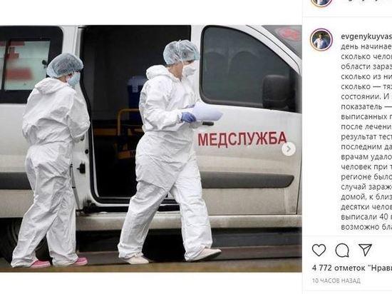 Куйвашев рассказал, что свердловские медики получили надбавки на 173 миллиона