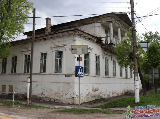 В Марий Эл отреставрируют дом – объект культурного наследия