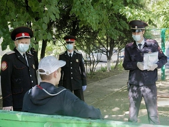 В воскресенье 151 житель Краснодара был оштрафован за нарушение карантина