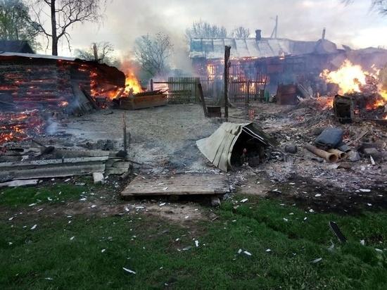 Житель Марий Эл спас семью из горящего дома