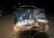 В Орловской области столкнулись два автомобиля