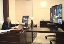 Президент Владимир Путин провел видеосовещание с руководством и представителями общественности Дагестана
