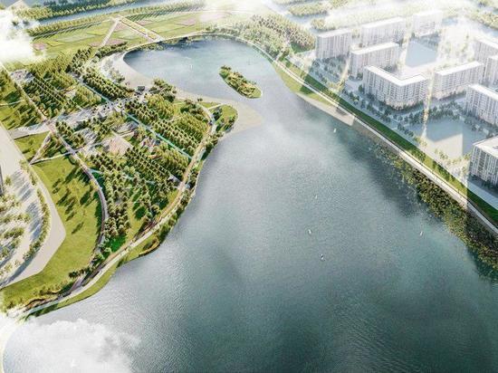 Территория вокруг Черного озера изменится до неузнаваемости: тропинки, беседки, спортплощадки