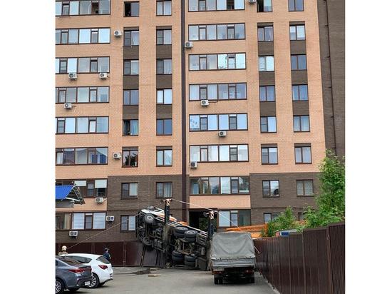 В Ставрополе упавшая стрела строительного крана лишила газа 248 квартир