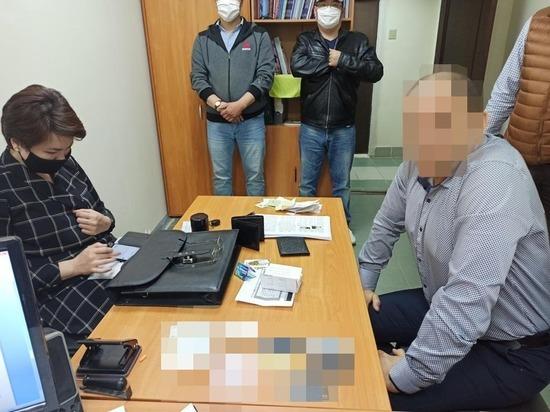 В Калмыкии арестован вымогавший взятку начальник фельдъегерской службы