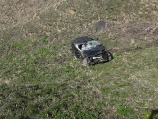 Машина упала в обрыв в горах Дагестана