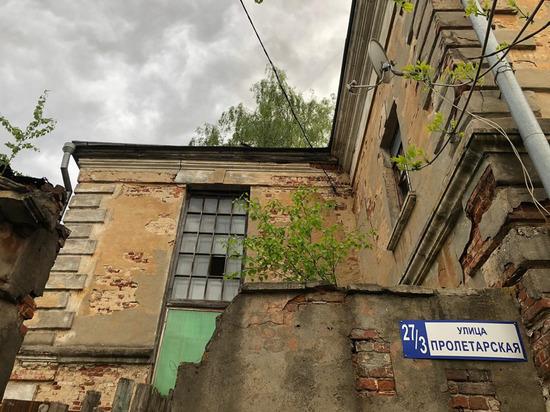 В одном из жилых домов Серпухова обрушился потолок