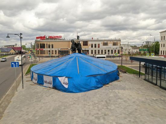 Фонтан на Привокзальной площади не будут открывать в мае
