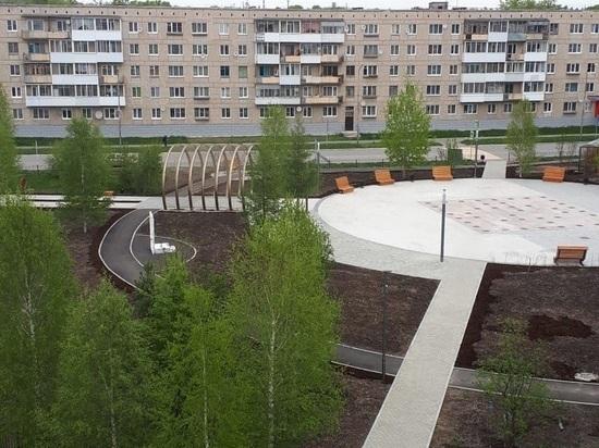 Федеральный Минстрой отметил реконструкцию сквера в Североуральске