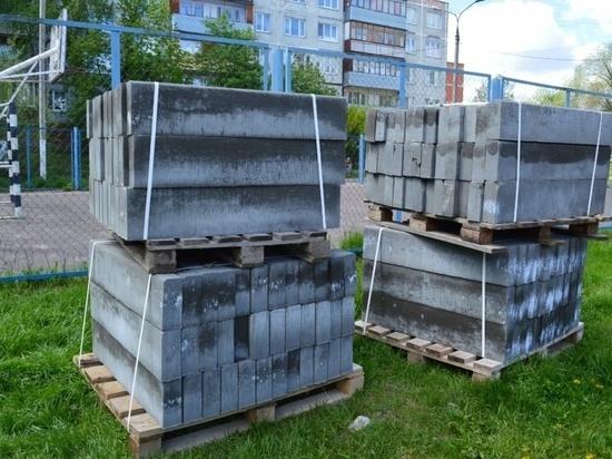 Реконструкцию сквера на Красном Текстильщике начали в Серпухове