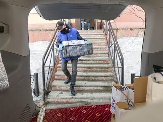 Продукты, маски, Интернет: как в ЯНАО политические партии помогают жителям в период пандемии. Фото