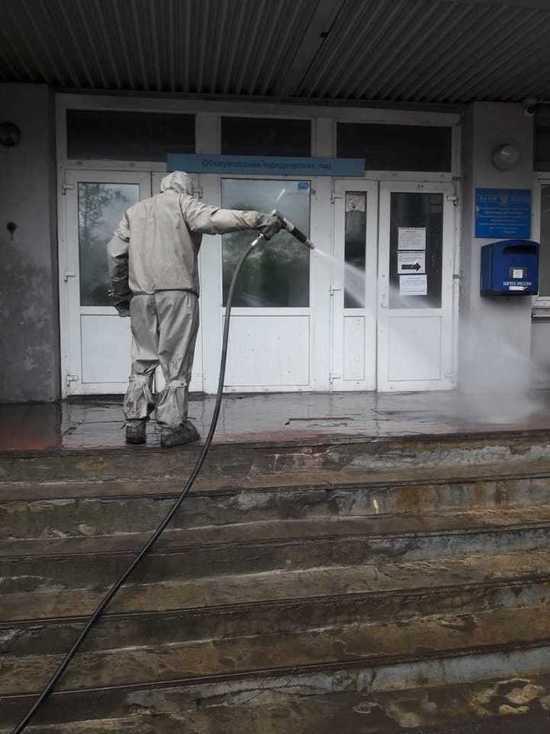 По заявке УФПС Ярославской области сотрудники МЧС провели плановую дезинфекцию на Главпочтамте и Автобазе