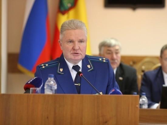 Первый зампрокурора Рязанской области Юрий Монахов ушел на пенсию