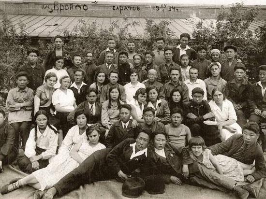 Почти все мужчины довоенной труппы калмыцкого театра погибли на войне