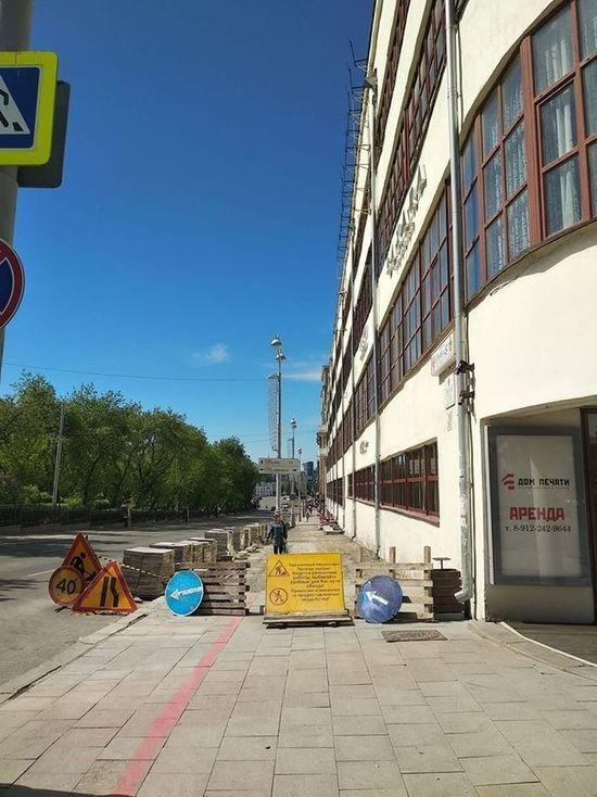 Высокинский объяснил, почему снова меняют гранитную плитку в центре Екатеринбурга
