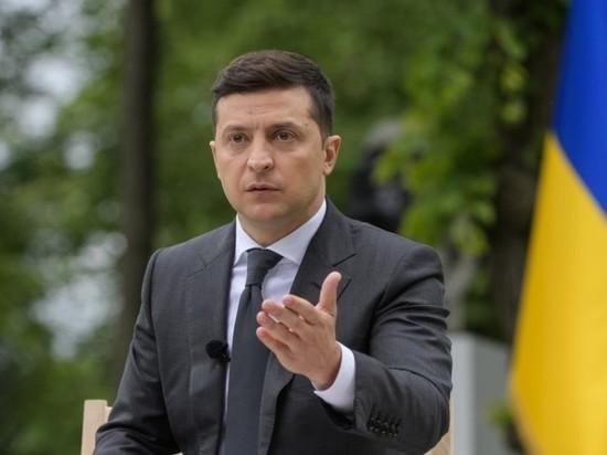 Зеленский назвал условие роспуска Верховной рады Украины