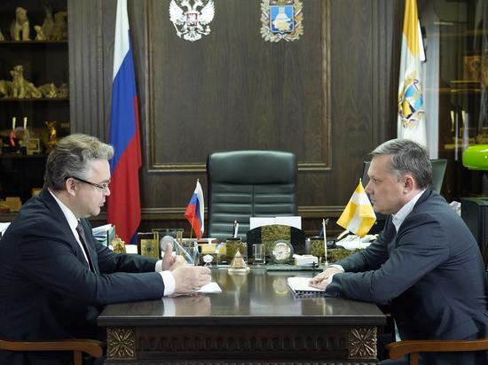 Губернатор поставил задачи главе Пятигорска