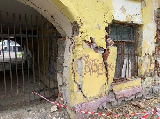 В Ярославле разваливается очередной памятник архитектуры