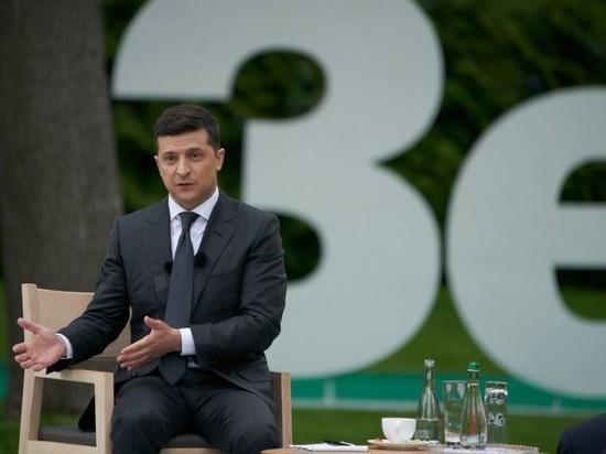 """Зеленский заявил, что он """"просто человек"""", и отпросился на минутку"""