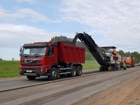 В Марий Эл продолжат ремонт дороги после перерыва