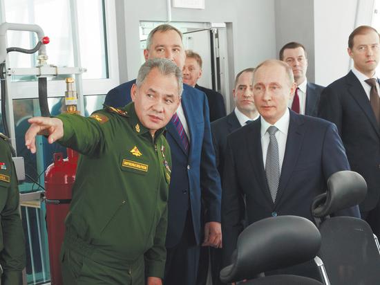 Поздравления Сергею Шойгу: