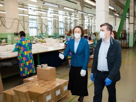 Ткань, выпуск которой наладили на «Шуйских ситцах», прошла проверку на устойчивость к коронавирусу