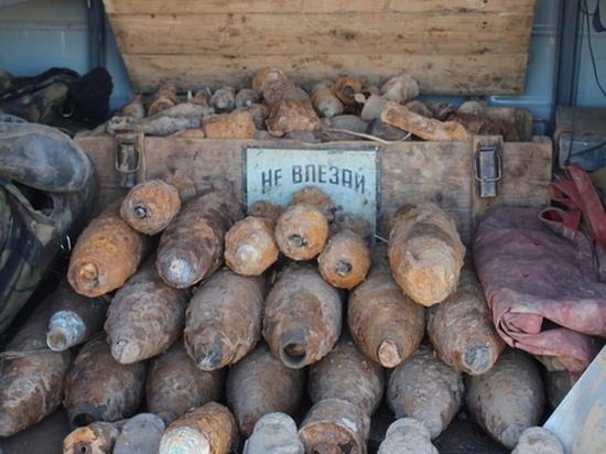 В Демидовском районе около одного из домов найдены 11 минометных мин