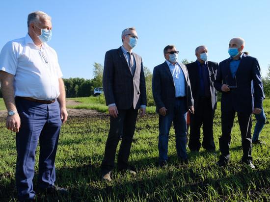Губернатор пообещал поддержку аграриям Новосибирской области