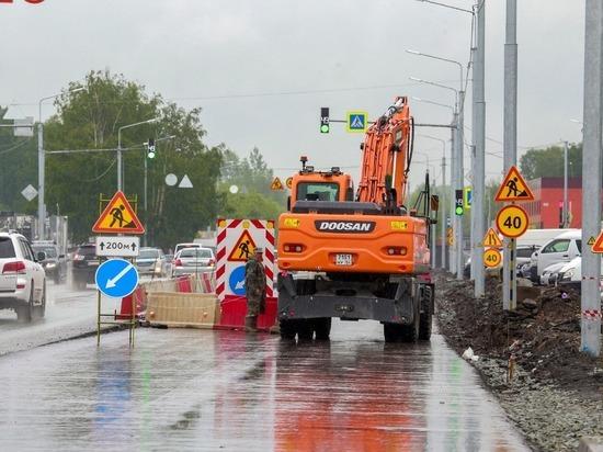 Дорогу к новому автовокзалу в Новосибирске сдадут раньше срока