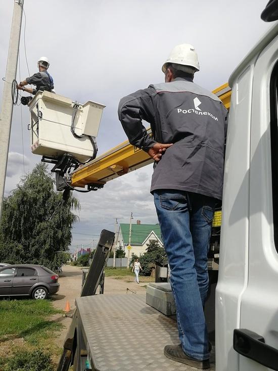 «Ростелеком» охватил оптикой частный сектор в девяти населенных пунктах Ставрополья
