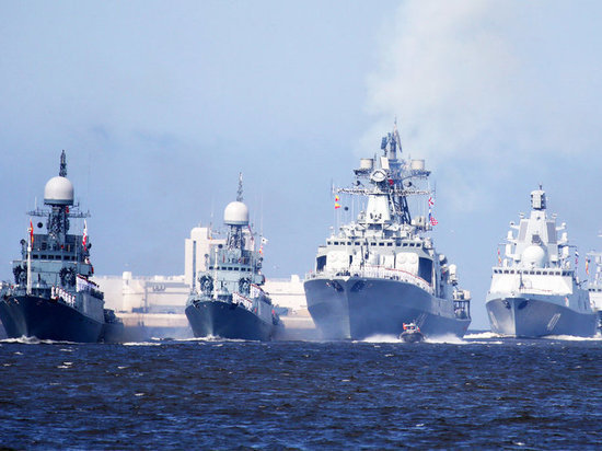 Военно морской парад пройдет в Дагестане впервые
