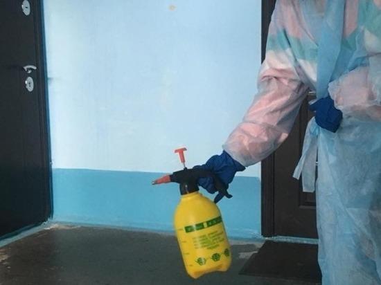 Госинспекция Забайкалья после жалоб контролировала дезинфекцию подъездов