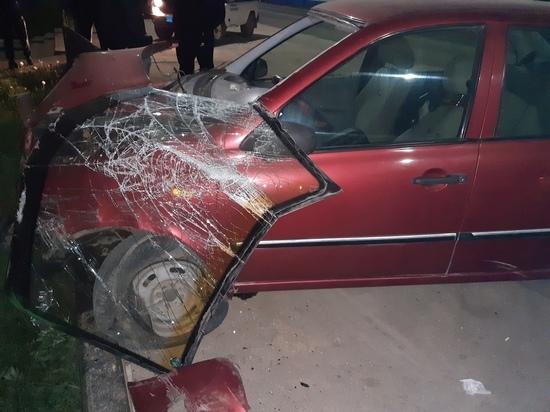 В Бугуруслане водитель попал в ДТП на угнанной машине