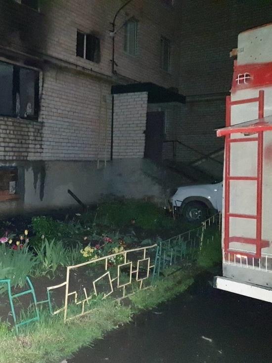 В Калужской области на пожаре четыре человека погибли и двое пострадали