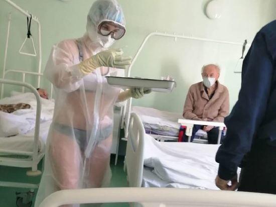 Тульский губернатор встал на защиту оголившейся медсестры