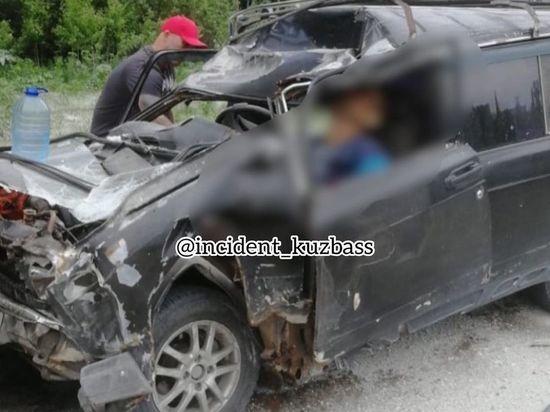 Страшное ДТП с погибшим произошло на кузбасской трассе