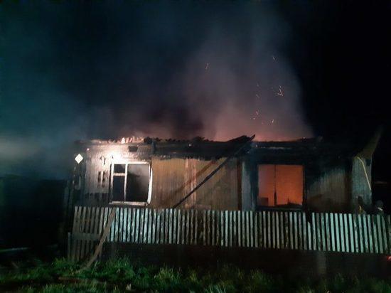 В Кировской области двое погибли в пожаре